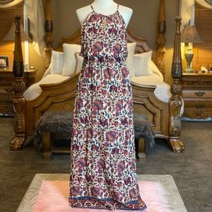 Lucky Brand Floral Maxi Dress Size Small